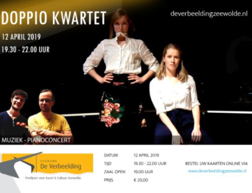 Piano en percussie met het Doppio Kwartet in De Verbeelding