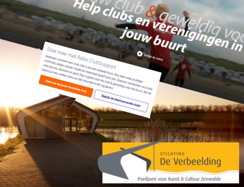 Rabo ClubSupport 2021 stem op stichting De Verbeelding